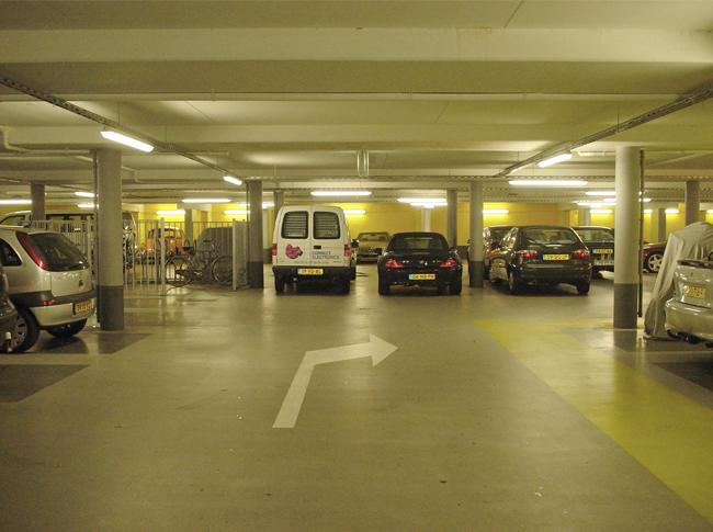 Coating parkeergarage