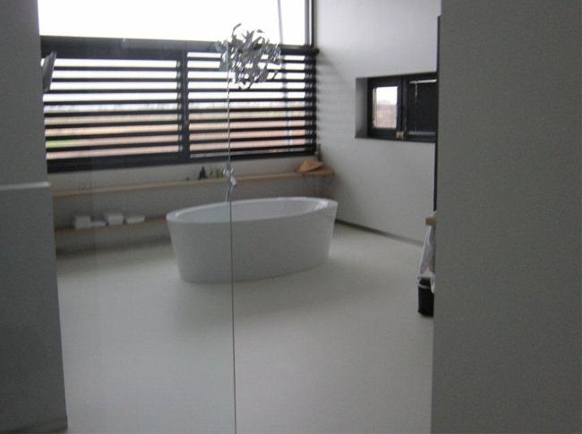 Welke Gietvloer Badkamer : Vloeren fotos berkers vloeren: cementdekvloeren gietvloeren en